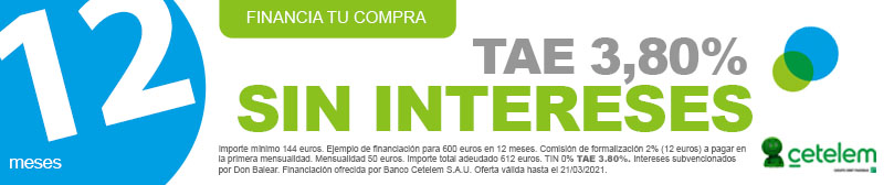 financiacion cetelem 12 meses sin intereses